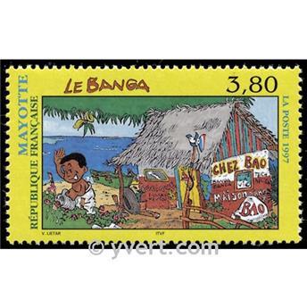 n° 45 -  Selo Maiote Correios