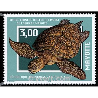 nr. 52 -  Stamp Mayotte Mail