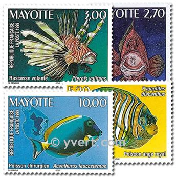 n.o 71 / 74 -  Sello Mayotte Correos
