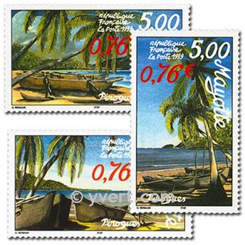 n.o 76B/76D (BF 2) -  Sello Mayotte Correos