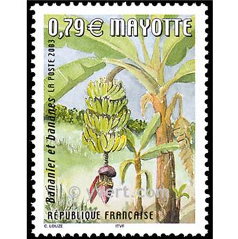 n.o 141 -  Sello Mayotte Correos