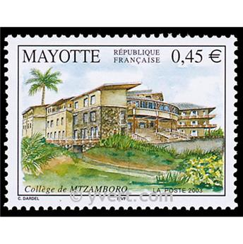 n.o 146 -  Sello Mayotte Correos