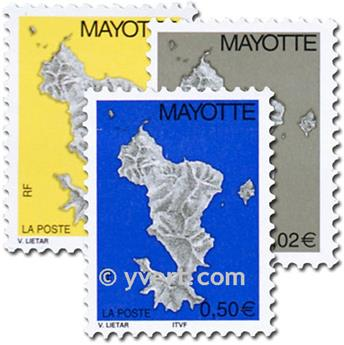 n.o 150/152 -  Sello Mayotte Correos