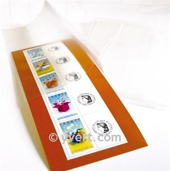 Filoestuches doble costura - AnchoxAlto: 160 x 112 mm (Fondo transparente)