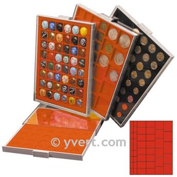 MEDAL CASE: 45 COMPARTMENTS