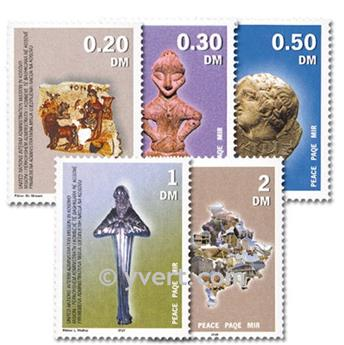 nr. 1/5 -  Stamp Kosovo - UN interim administration Mail
