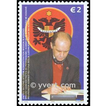 n.o 58 -  Sello Kosovo - ONU Correos