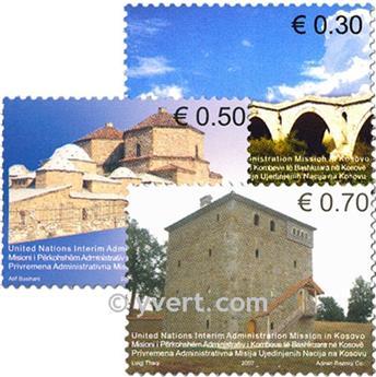 n° 86/89 -  Timbre Kosovo - ONU Poste