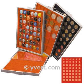 MEDAL CASE: 48 COMPARTMENTS (SPECIAL EURO)
