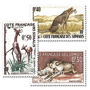 nr. 287/289 -  Stamp French Somaliland Mail