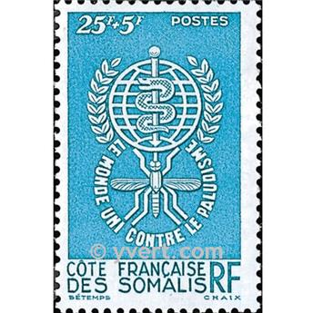n° 304 -  Selo Somalilândia Francesa Correios