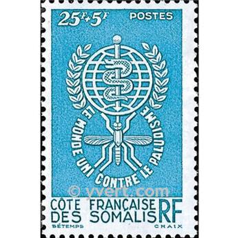 n.o 304 -  Sello Somalia francesa Correos