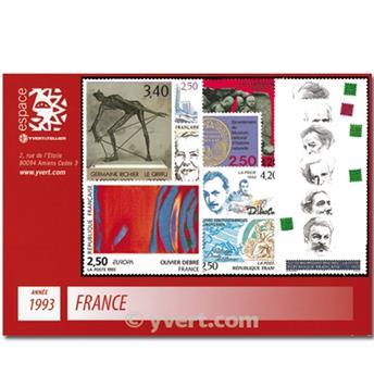 n° 2785/2853  - Selo França Ano completo  (1993)