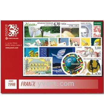 n° 3129/3210  - Timbre France Année complète  (1998)