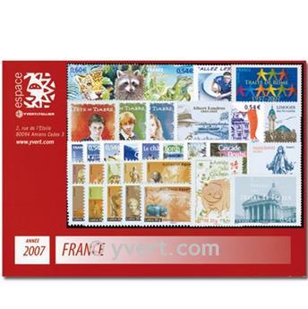 n° 3996/4126  - Timbre France Année complète  (2007)