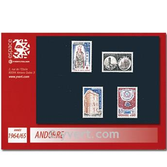 nr. 171/174 -  Stamp Andorra Year set (1964/65)