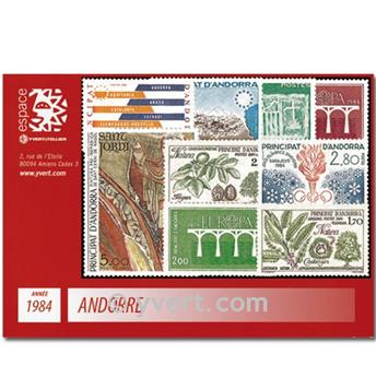 nr. 327/336 -  Stamp Andorra Year set (1984)