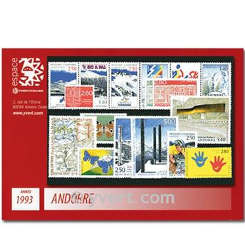 nr. 426A/440 -  Stamp Andorra Year set (1993)