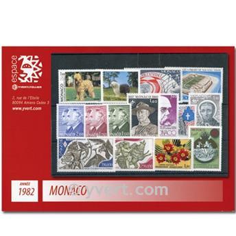 nr. 1306/1358 -  Stamp Monaco Year set (1982)