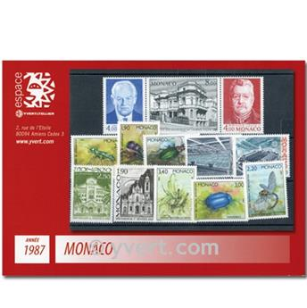 nr. 1562/1613 -  Stamp Monaco Year set (1987)
