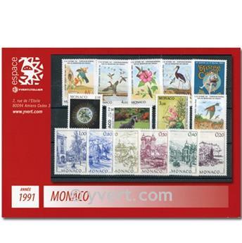 nr. 1753/1809 -  Stamp Monaco Year set (1991)
