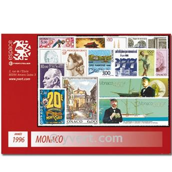 nr. 2026/2085 -  Stamp Monaco Year set (1996)