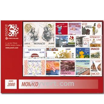 nr. 2230/2294 -  Stamp Monaco Year set (2000)