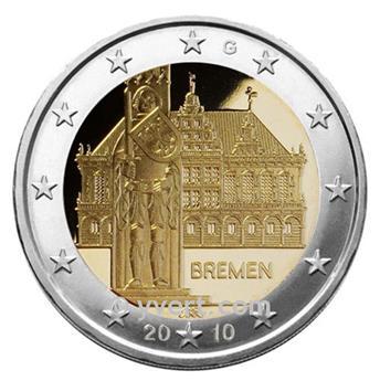 2 EURO COMMEMORATIVE 2010 : ALLEMAGNE (G)