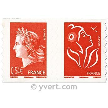 n° P139 -  Selo França Autoadesivos