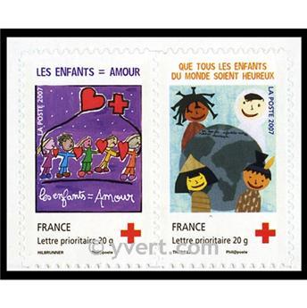 n° P145 -  Selo França Autoadesivos