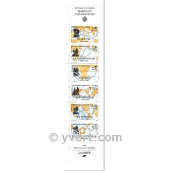 nr. BC2523 -  Stamp France Famous Figures Booklet panes