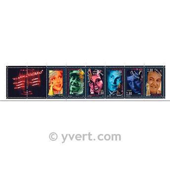 n° BC2903 -  Selo França Carnet Personalidades