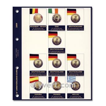 Inserts €2 commemorative coins 2009 (UEM) - MARINI®