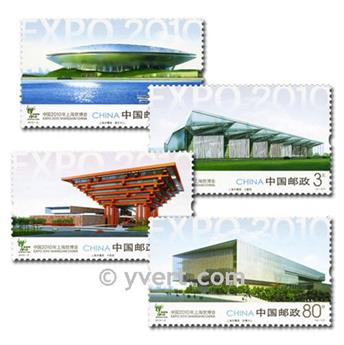 n° 4700/4703 -  Timbre Chine Poste
