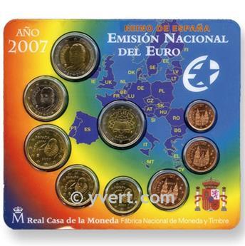 BU : ESPAGNE 2007 + 2 EURO? TRAITE DE ROME