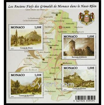 n° 98 -  Timbre Monaco Bloc et feuillets