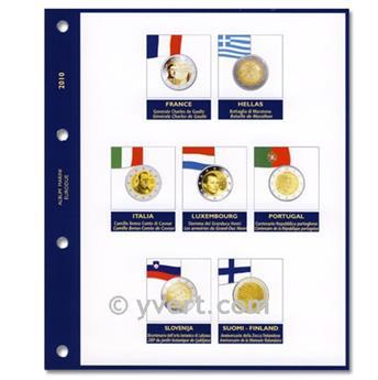 Inserts €2 commemorative coins 2010 - MARINI®