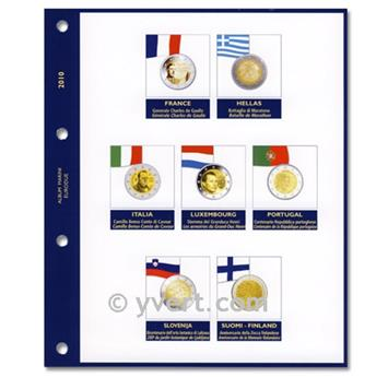 Recambios para 2 EUROS conmemorativas 2010 - MARINI®