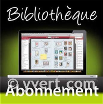 Abonnement (par an) Bibliothèque en ligne : les nouveautés