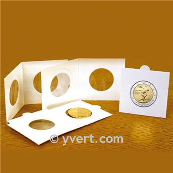 COIN HOLDERS: 22.5 mm - SELF SEALING