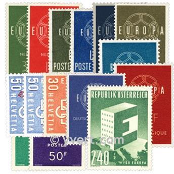 1959** - Année complète neuf EUROPA