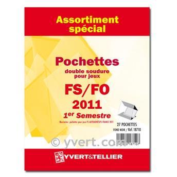 Assortiment de pochettes (double soudure) : 2011-1er semestre