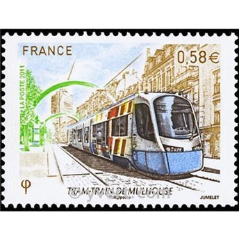 n.o 4530 -  Sello Francia Correos