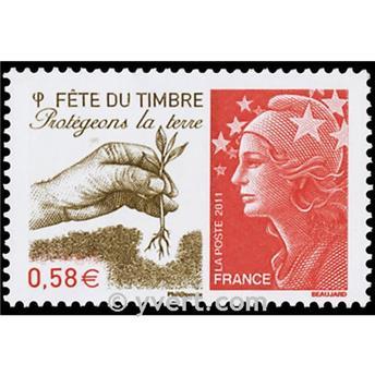 n.o 4534 -  Sello Francia Correos