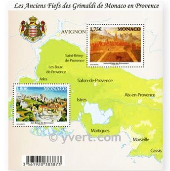 n° 99 -  Timbre Monaco Bloc et feuillets