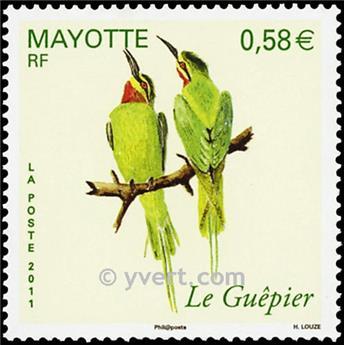 n.o 246 -  Sello Mayotte Correos