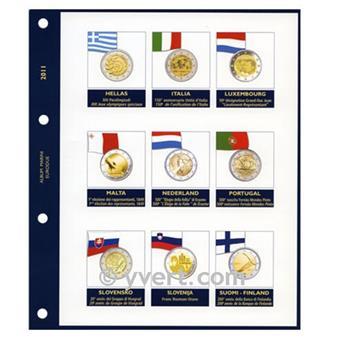 Recharges 2 EUROS commémoratifs 2011 - MARINI®