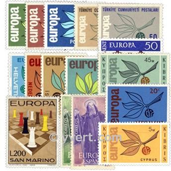 1965** - Année complète neuf EUROPA