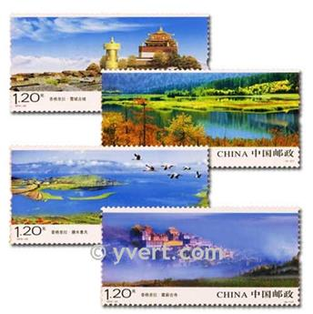 n° 4753/4756 -  Timbre Chine Poste
