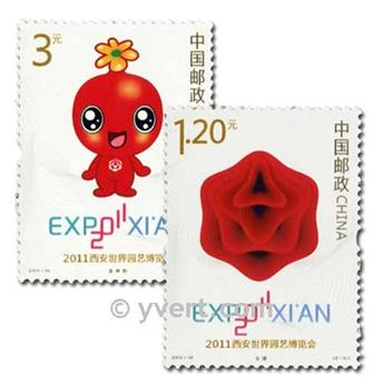 nr. 4810/4811 -  Stamp China Mail